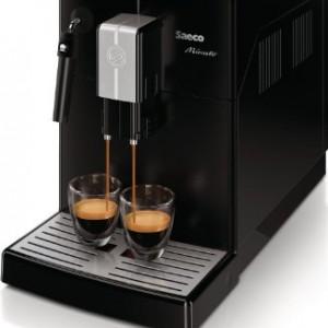 Saeco HD8761/01 Machine à Espresso Ultra compacte et Automatique Minuto Mousseur à lait Classique