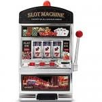 Grande Machine à Sous Jackpot Casino avec sons et lumière - fait aussi Tirelire